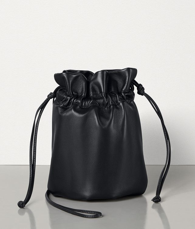 BOTTEGA VENETA DRAWSTRING POUCH IN NAPPA Mini Bag and Pouche Woman fp