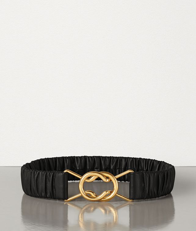 BOTTEGA VENETA BELT IN NAPPA Belt Woman fp