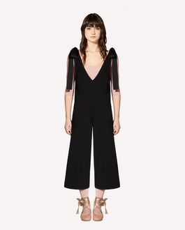 REDValentino Wool knit jumpsuit