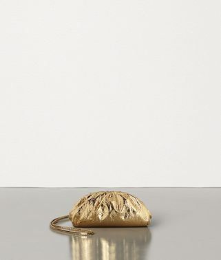 MINI COIN PURSE IN METALLIC NAPPA