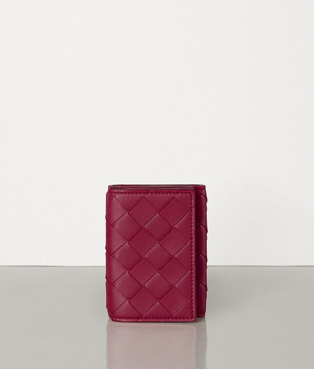 BOTTEGA VENETA MINI CONTINENTAL WALLET IN MAXI INTRECCIO Large Wallet Woman fp