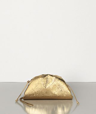 THE POUCH 20 IN METALLIC NAPPA