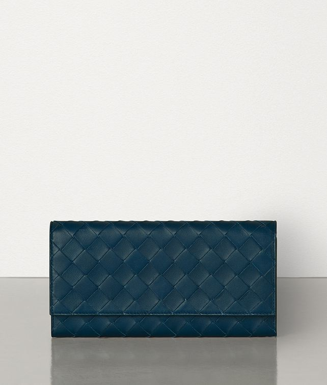 BOTTEGA VENETA MEDIUM CONTINENTAL WALLET IN MAXI INTRECCIO Large Wallet Woman fp