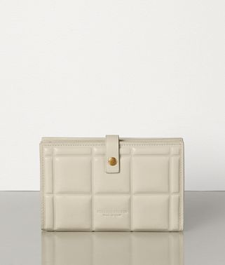 MEDIUM FRENCH WALLET IN PADDED PAPER CALFSKIN