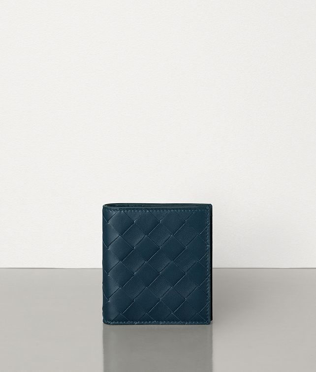 BOTTEGA VENETA BILLFOLD WALLET IN INTRECCIATO NAPPA Small Wallet Man fp