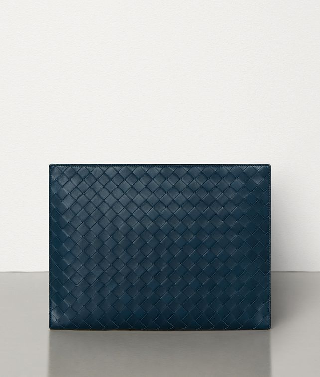 BOTTEGA VENETA SMALL DOCUMENT CASE IN MAXI INTRECCIO Document case Man fp