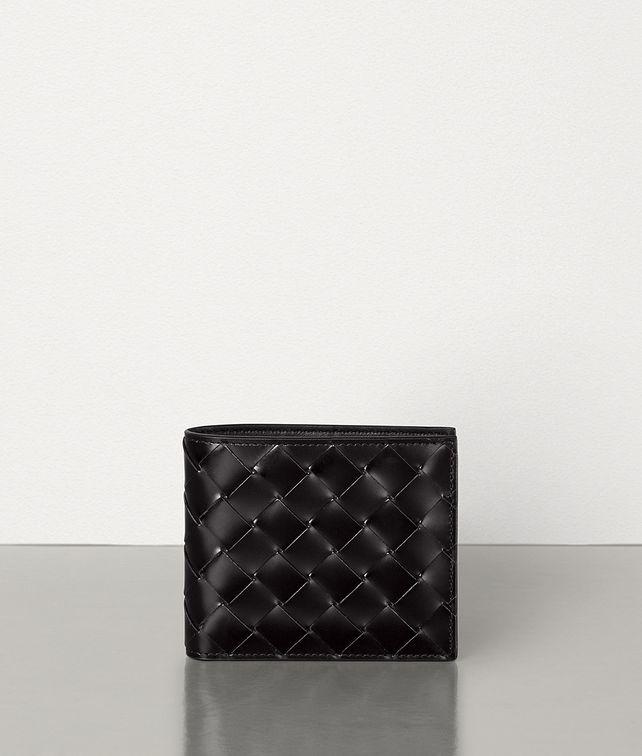 BOTTEGA VENETA イントレチャートスパッツォラートカーフ コインケース付き二つ折りウォレット スモール ウォレット メンズ fp