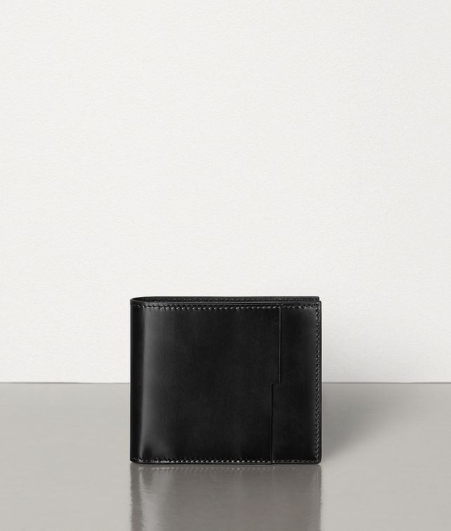 BOTTEGA VENETA BILLFOLD WALLET IN SPAZZOLATO CALFSKIN Small Wallet Man fp