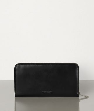 MEDIUM ZIP AROUND WALLET IN SPAZZOLATO CALFSKIN