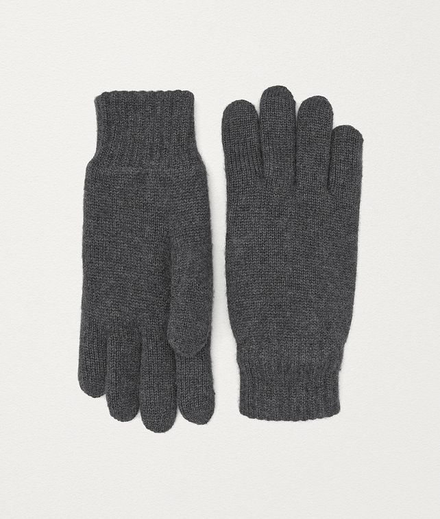 BOTTEGA VENETA GLOVES IN SHEARLING Scarves, Gloves & Others Man fp