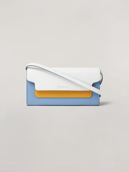 Marni Saffiano leather bellows wallet Woman