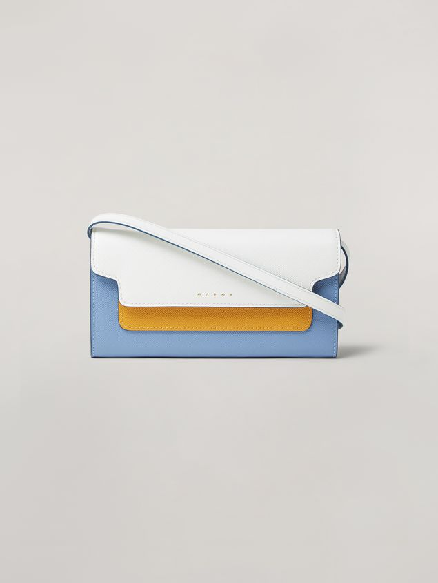 Marni Saffiano leather bellows wallet Woman - 1