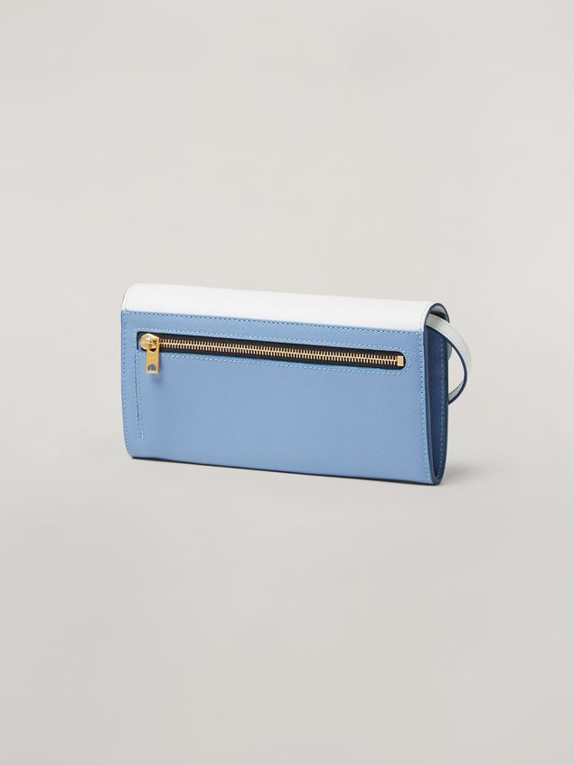 Marni Saffiano leather bellows wallet Woman - 3