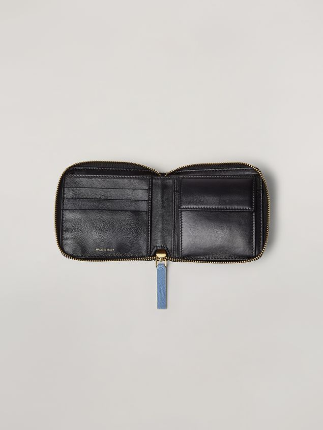 Marni Squared zip-around wallet in Saffiano leather  Woman - 2