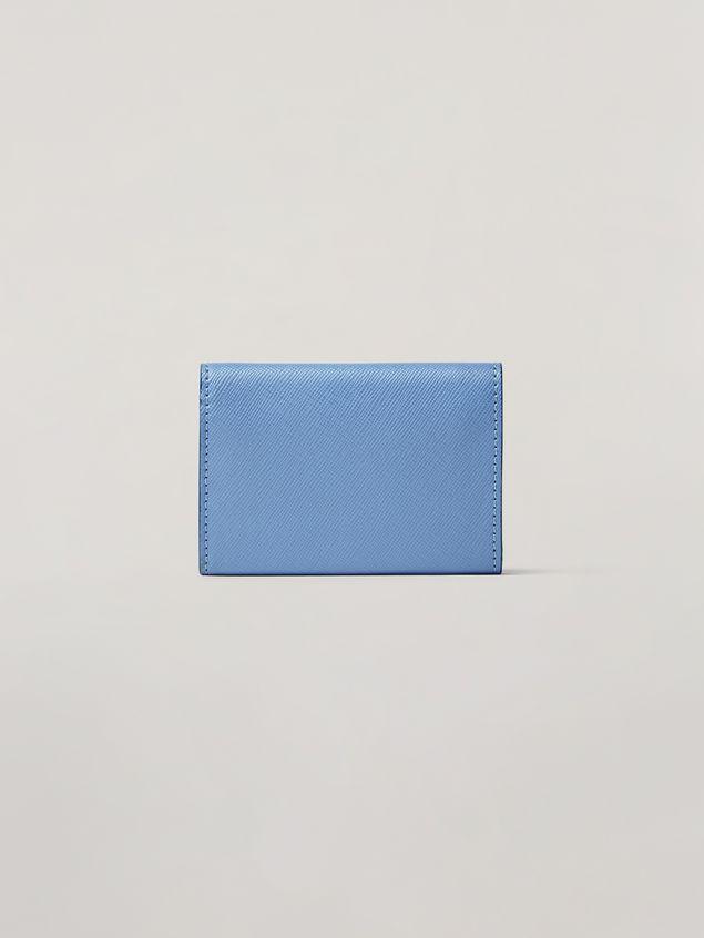 Marni Saffiano leather tri-fold wallet Woman