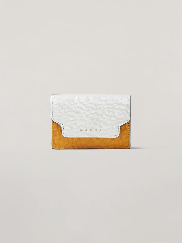 Marni Saffiano leather tri-fold wallet Woman - 1
