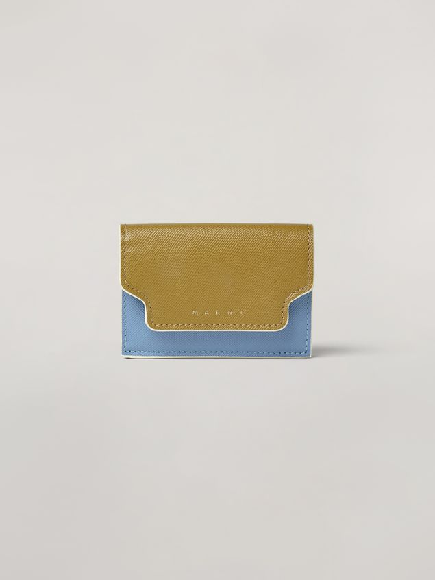 Marni Saffiano leather tri-fold wallet Woman - 1