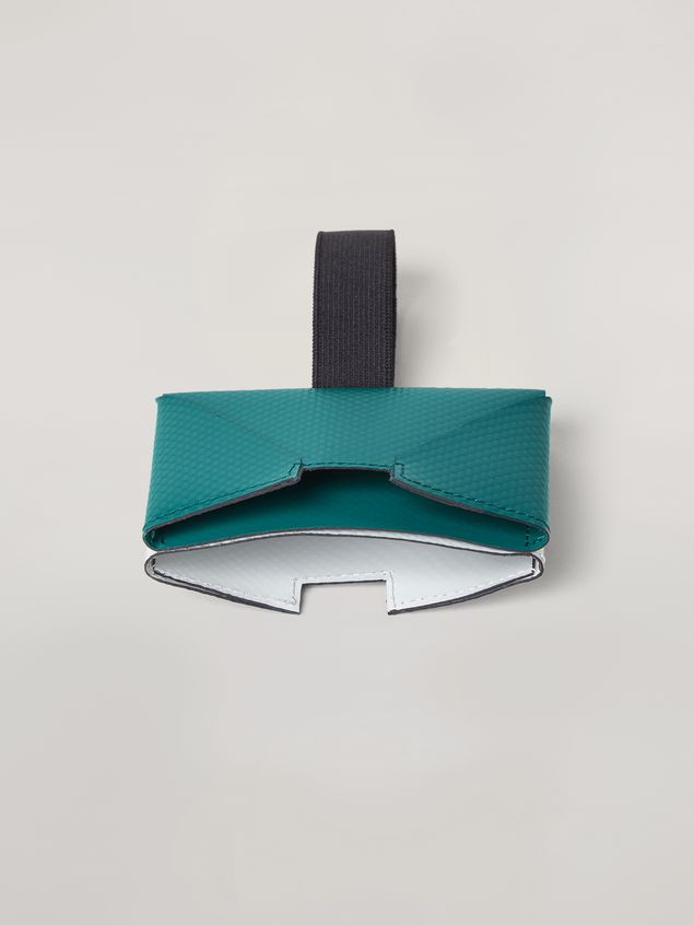 Marni Wallet in PVC white and green Man - 2