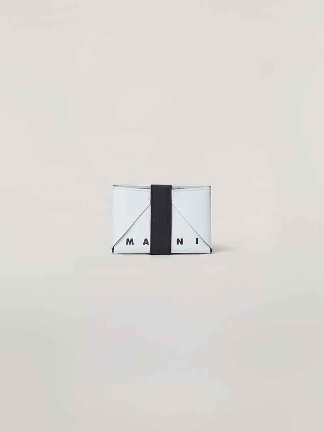 Marni Wallet in PVC white and green Man - 1