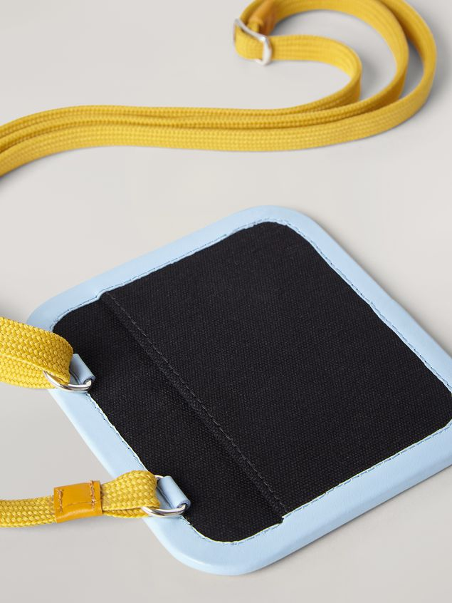 Marni Necklace credit card holder in waterproof cotton canvas Man - 2