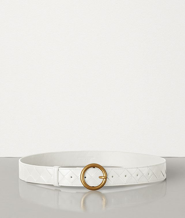 BOTTEGA VENETA BELT IN INTRECCIATO NAPPA Belt Woman fp