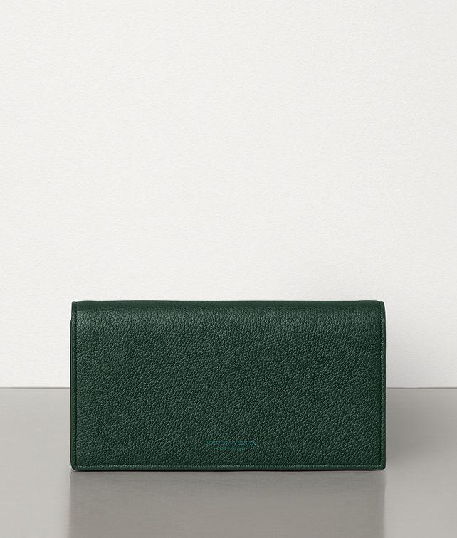 BOTTEGA VENETA CONTINENTAL WALLET IN GRAINY CALF Large Wallet Woman fp