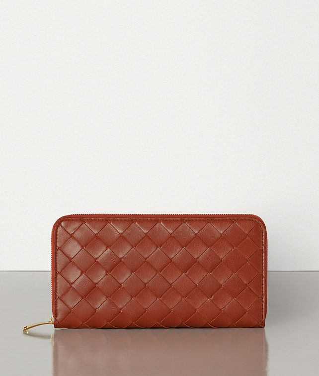 BOTTEGA VENETA ZIP-AROUND WALLET Large Wallet [*** pickupInStoreShippingNotGuaranteed_info ***] fp