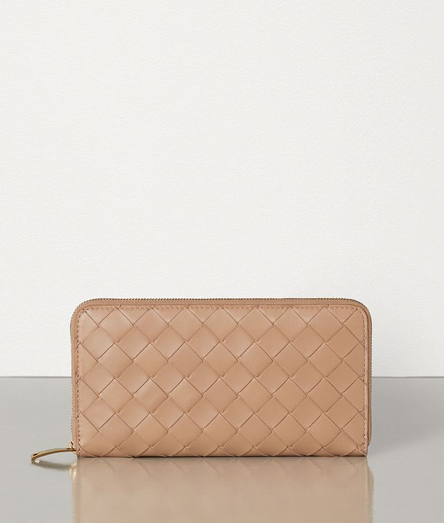 BOTTEGA VENETA ZIP-AROUND WALLET Large Wallet Woman fp