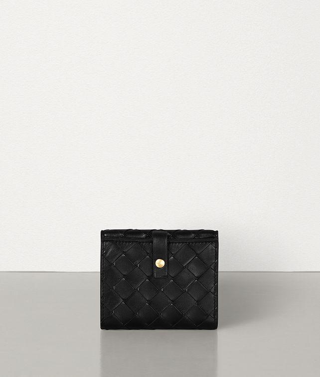 BOTTEGA VENETA SMALL FRENCH WALLET IN INTRECCIATO NAPPA Small Wallet Woman fp