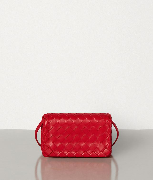 BOTTEGA VENETA MINI CROSSBODY IN INTRECCIATO NAPPA Mini Bag and Pouche Woman fp