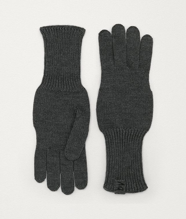 BOTTEGA VENETA GLOVES IN WOOL Scarves, Gloves & Others Man fp