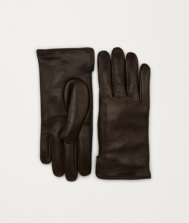 BOTTEGA VENETA GLOVES IN LAMB Scarves, Gloves & Others Man fp