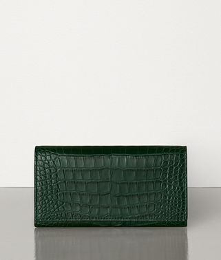 CONTINENTAL WALLET IN ALLIGATOR LEATHER