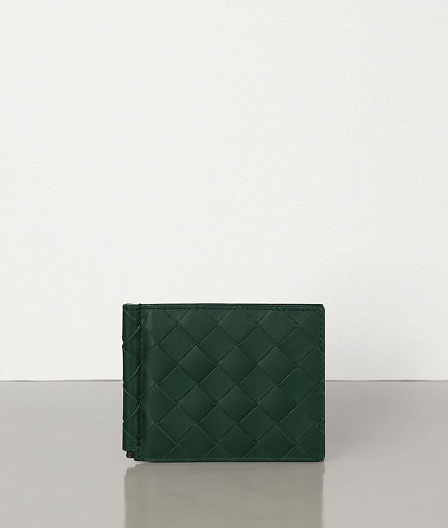 BOTTEGA VENETA BI-FOLD WALLET WITH MONEY CLIP Small Wallet Man fp