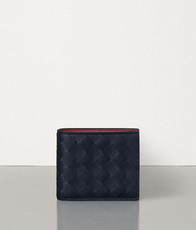 BOTTEGA VENETA BILLFOLD WALLET IN INTRECCIATO VN Small Wallet Man fp