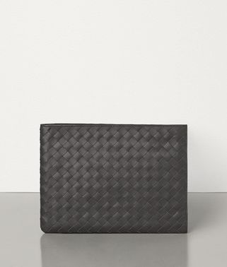 LARGE POUCH IN INTRECCIATO VN