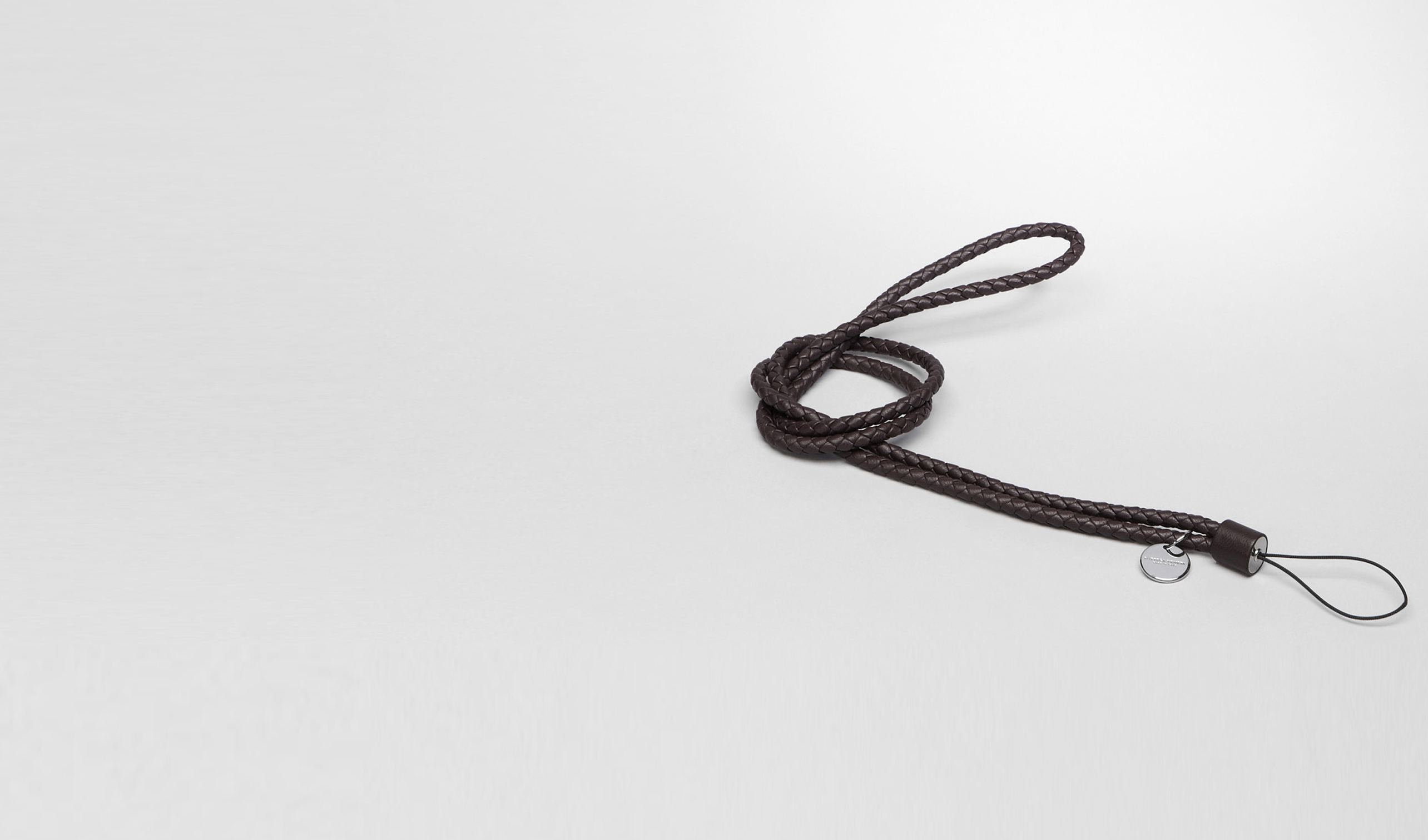 BOTTEGA VENETA Other Leather Accessory E Ebano Intrecciato Nappa Cell Phone Strap pl