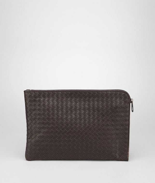 BOTTEGA VENETA Ebano Intrecciato VN Document Case Small bag U fp