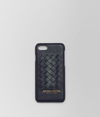 DARK NAVY INTRECCIATO NAPPA CLUB HIGH-TECH CASE