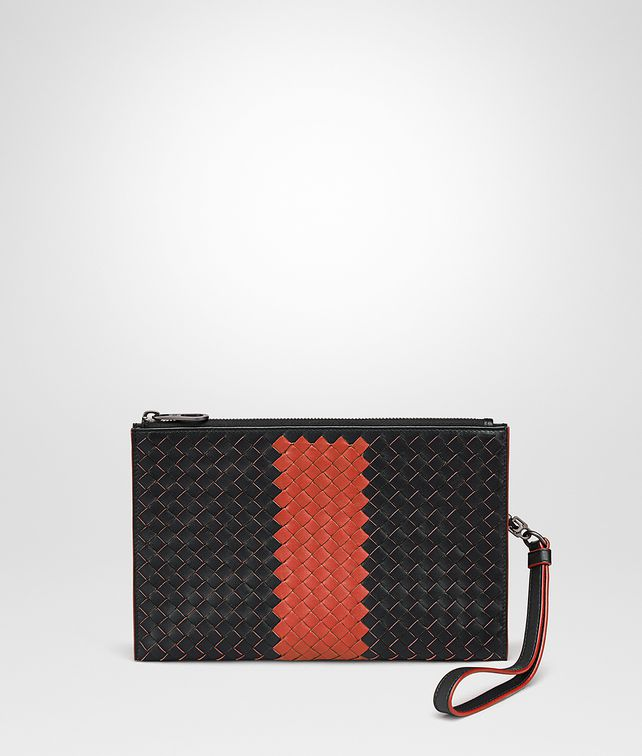 BOTTEGA VENETA NERO INTRECCIATO NAPPA MULTI-FUNCTIONAL CASE Other Leather Accessory [*** pickupInStoreShippingNotGuaranteed_info ***] fp