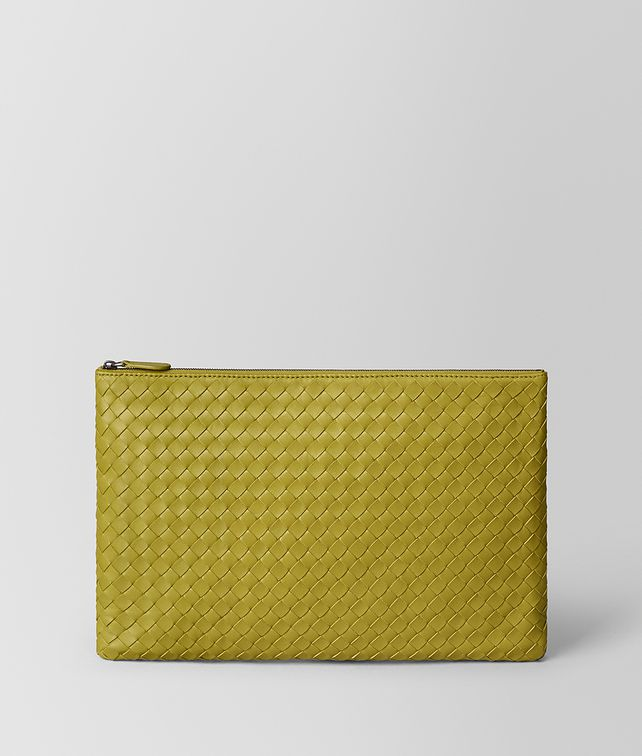BOTTEGA VENETA CHAMOMILE INTRECCIATO NAPPA LARGE BILETTO Other Leather Accessory E fp