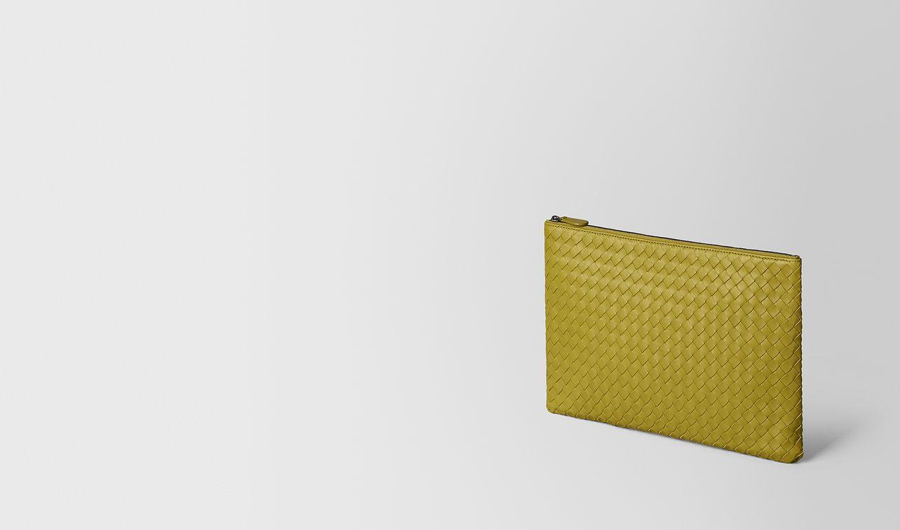 chamomile intrecciato nappa large biletto landing