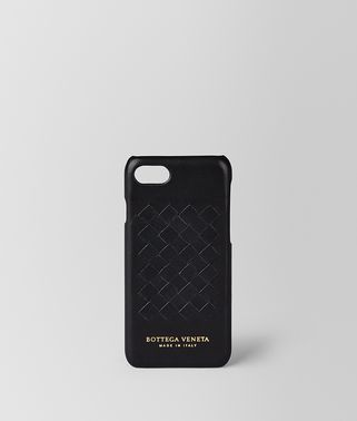 CUSTODIA IPHONE 7 IN SOFTLUX VITELLO NERO
