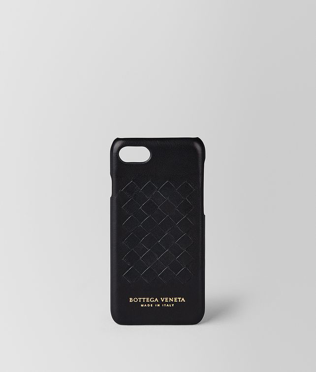 BOTTEGA VENETA NERO SOFTLUX CALF IPHONE 7 CASE Tech Accessory E fp