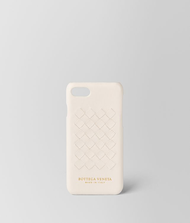 BOTTEGA VENETA CUSTODIA IPHONE 7 IN SOFTLUX VITELLO MIST Accessorio hi-tech E fp