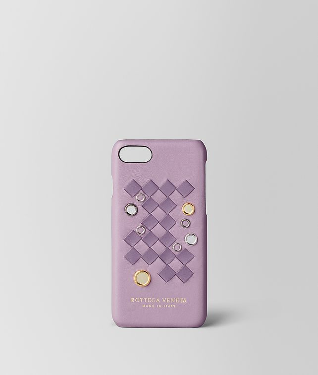 BOTTEGA VENETA PARME LILAC INTRECCIATO PALIO IPHONE 7 CASE Tech Accessory E fp