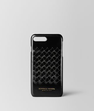 NERO METAL BRUSH CALF IPHONE 7 PLUS CASE