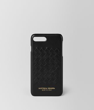 CUSTODIA IPHONE 7 PLUS IN SOFTLUX VITELLO NERO