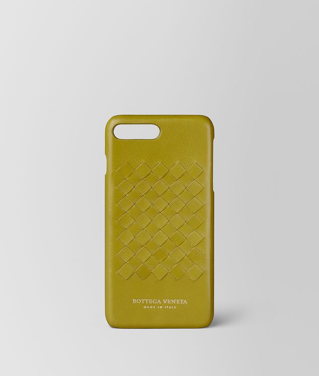 BOTTEGA VENETA CHAMOMILE SOFTLUX CALF IPHONE 7 PLUS CASE  Tech Accessory E fp