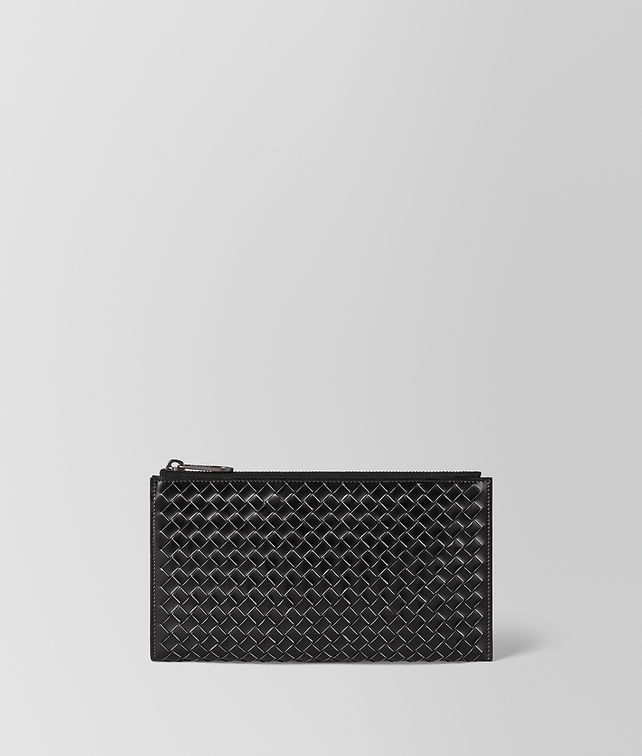 BOTTEGA VENETA NERO METAL BRUSH CALF MULTI-FUNCTIONAL CASE Other Leather Accessory [*** pickupInStoreShippingNotGuaranteed_info ***] fp